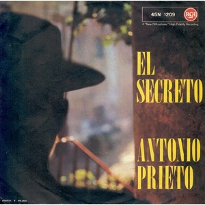 ANTONIO PRIETO  RETRATO - EL SECRETO