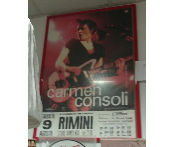 Poster Carmen Consoli