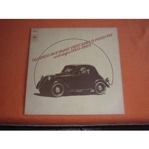 Various – Quando Avevamo Vent'anni O Poco Piu'-Nostalgia 1950-1960
