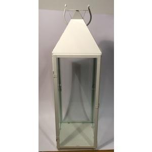 Lanterna bianca squadrata piccola