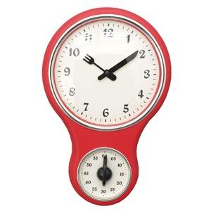 Orologio con timer rosso