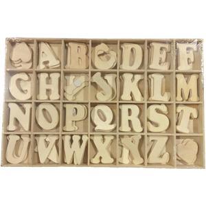 Scatola lettere legno naturale