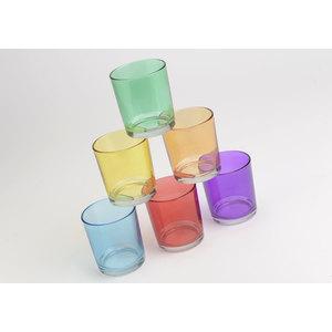 Set 6 bicchieri colorati
