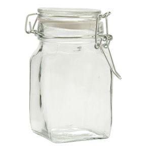 Vasetto vetro ermetico