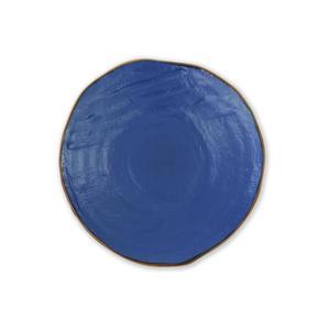 MEDITERRANEO Piatto piano blu