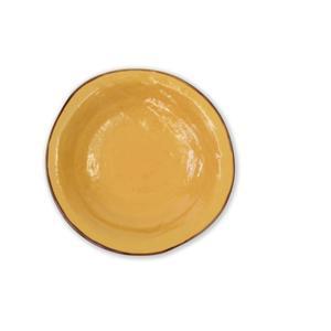 MEDITERRANEO Piatto fondo giallo