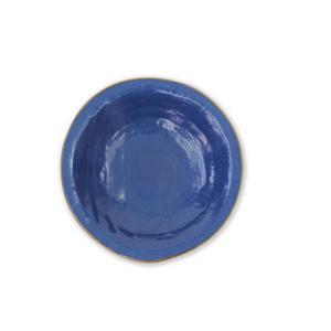 MEDITERRANEO Piatto fondo blu