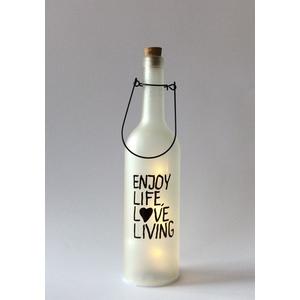 """Bottiglia led """"LIFE"""""""