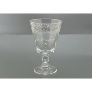 """Set 5 bicchiere """"Le Bonheur"""""""