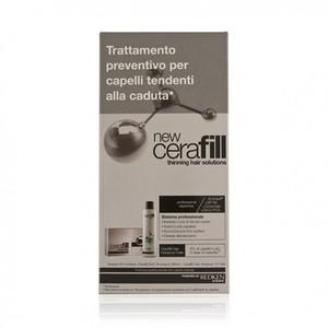 Cerafill Kit Caduta Preventiva Shampoo + 10 fiale Redken