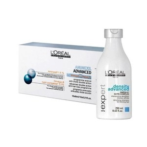 Aminexil Advanced Pro Hair Regular 20 (20 fiale + Dencity Advanced Shampoo) L'Orèal