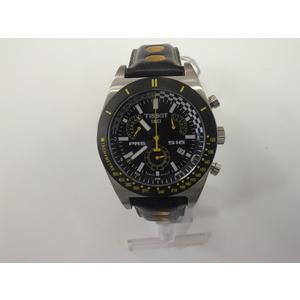 Tissot PRS 516 cronografo acciaio  quadrante nero