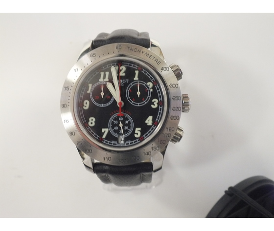 Tissot T-sport V8 cronografo in acciaio