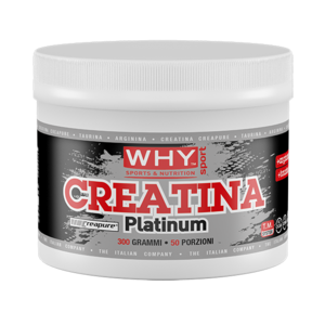 why sport creatina monoidrata platinum 300g polvere pura