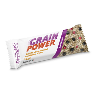 +WATT Grain Power - Barretta energetica ai cereali, non ricoperta