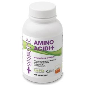 +WATT Aminoacidi+ Aminoacidi essenziali e vitamina B6 - 100 compresse