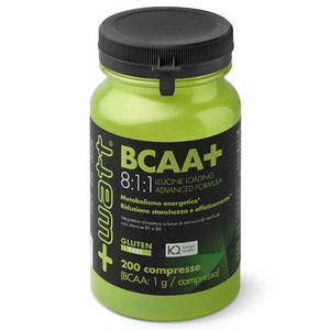 +WATT BCAA+ 8:1:1 Leucine Loading Advanced Formula 200 compresse
