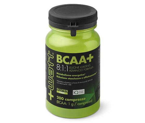 +WATT BCAA+ 8:1:1 Leucine Loading Advanced Formula 200 compresse