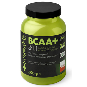 +WATT BCAA+ 8:1:1 Leucine Loading Advanced Formula 300 g polvere