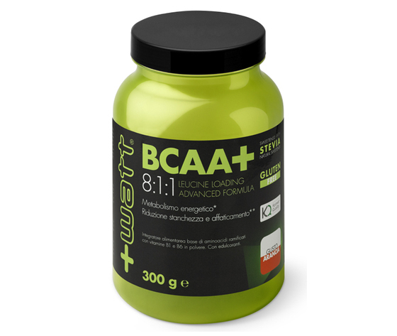 +WATT BCAA+ 8:1:1 Leucine Loading Advanced Formula 300 g polvere