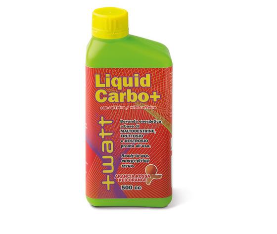 +WATT Liquid Carbo+ - soluzione equilibrata di carboidrati - 500 ml agrumi