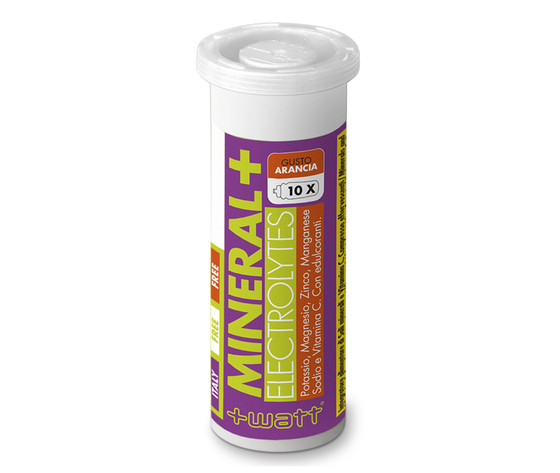 +WATT MINERAL+ ELECTROLYTES - Vitamine e sali minerali per il recupero idrosalino