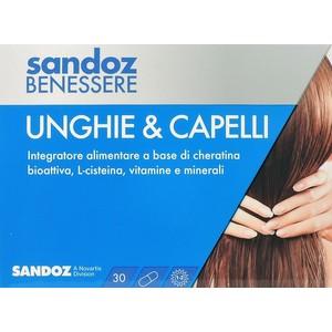 sandoz benessere unghie e capelli 30 capsule