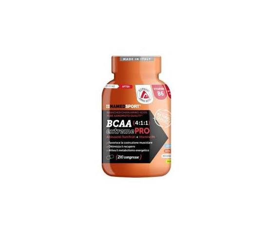 Named Bcaa 4:1:1 Extreme Pro 210 Compresse