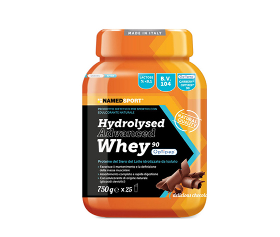 HYDROLYSED ADVANCED WHEY DELICIOUS CHOCOLATE BARATTOLO POLVERE ORALE 750 G