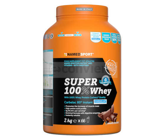 Named super 100% whey 2kg - smooth chocolate