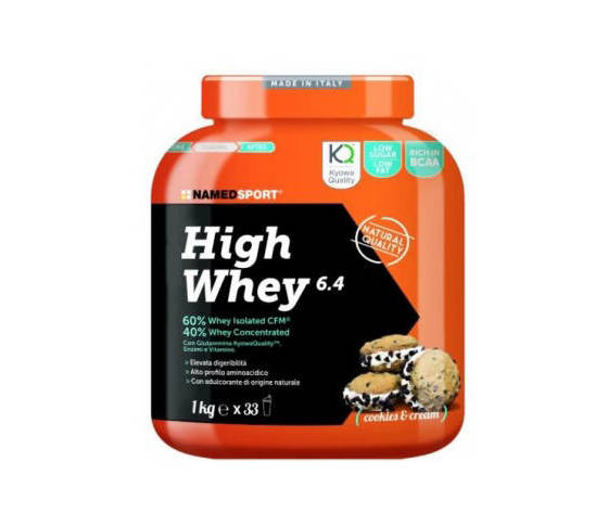 Named high whey 1kg - cookies and cream