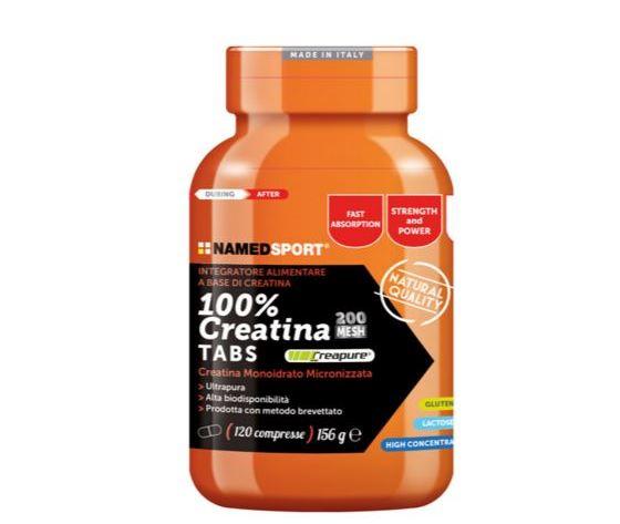 Named 100% Creatine 120 Compresse