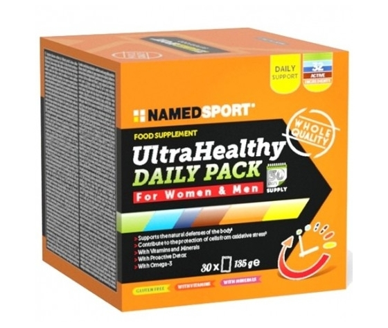 Named Ultra Healthy daily pack - 30buste