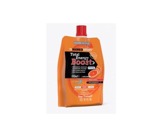 Named Total Energy Boost - Red Orange