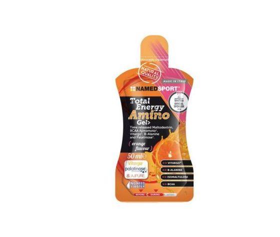Named Total Energy Amino gel - orange