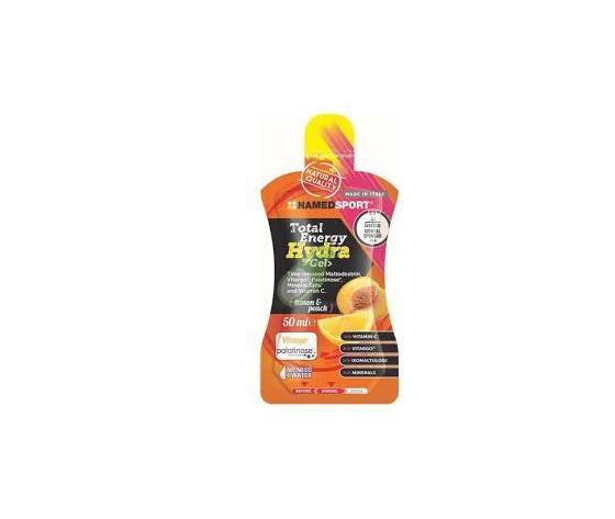 Named Total Energy Hydra Gel 50 ml - Lemon And Peach
