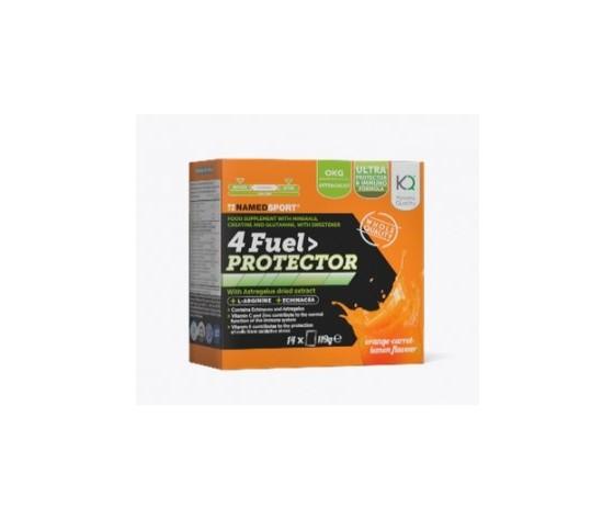 Named 4 Fuel Protector 14 Bustine - Orange, Carrot And Lemon