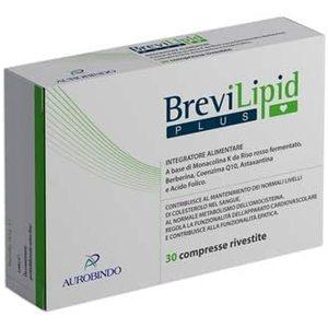 Aurobindo Brevilipid plus 30 compresse - fuori tutto