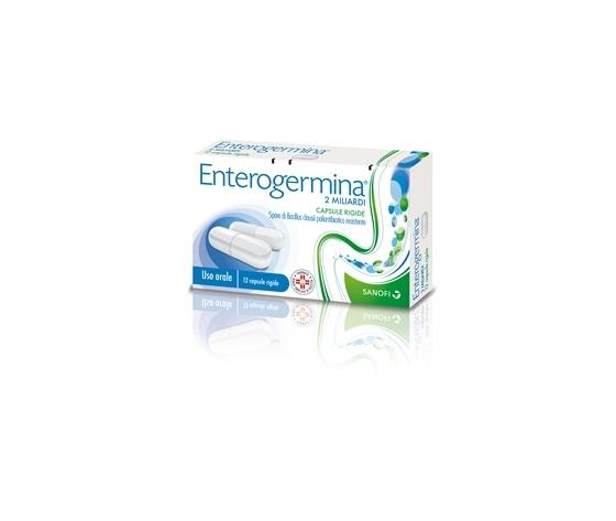 """Enterogermina 2 miliardi 12 capsule rigide - fuori tutto"""""""