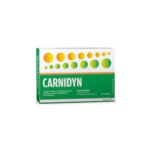 ALFASIGMA Carnidyn 20 bustine gusto arancia - fuori tutto