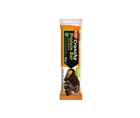 NAMED Crunchy protein bar 40g dark rock chocolate flavour