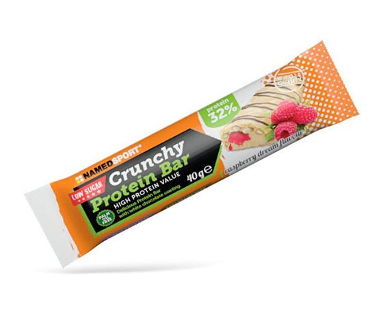 NAMED Crunchy protein bar 40g - strawberry cream flavour