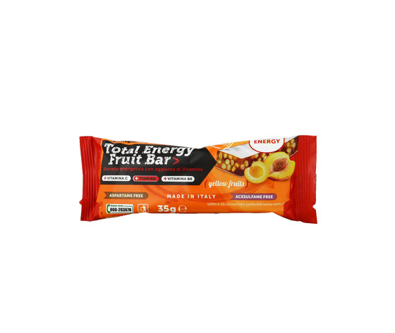 NAMED Total energy fruit bar 35g - Yellow fruits