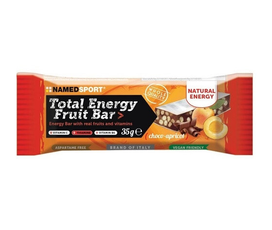 NAMED Total energy fruit bar 35g - Choco-apricot