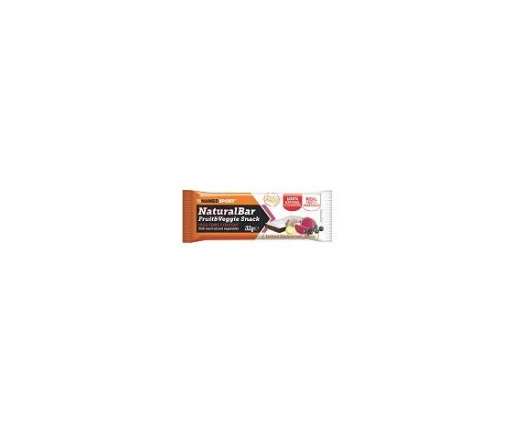 """NAMED-SPORT -Naturalbar -       ( rhubarb strawberry flavour ) 32g"