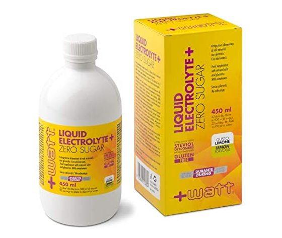+WATT liquid electrolyte+zero sugar-450ml