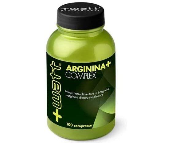 +WATT arginina+complex 100compresse