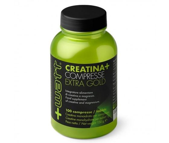 +WATT creatina +compresse extra gold 100 compresse