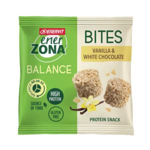 ENERVIT ener zona bites dark  vanilla & white chocolate 24g