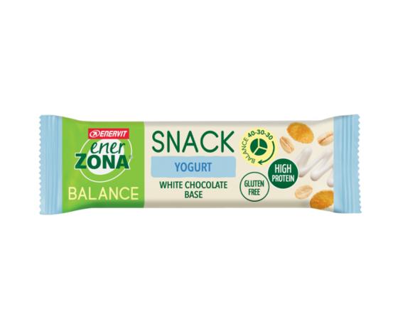 ENERVIT ener zona snack yogurt white chocolate base 25g
